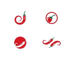 Chili logo vector