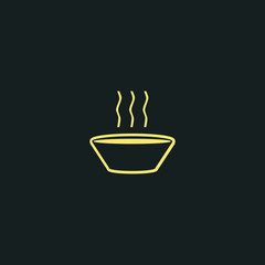 bowl of soup icon
