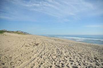 An empty looking beach
