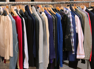 many vintage clothes for sale