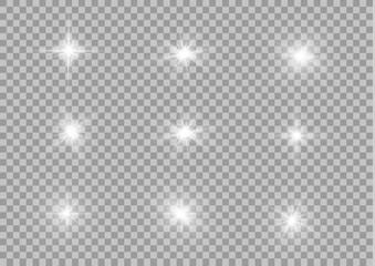 White glowing light