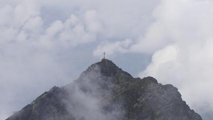 Berggipfel Gipfelkreuz Alpen