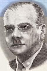 Ignacy Matuszewski portrait from Polish money