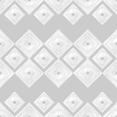 Seamless abstract geometric pattern. Mosaic texture. Scribble texture. Textile rapport.