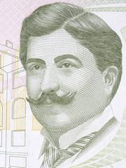 Mimar Kemaleddin portrait from Turkish money