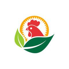 Chicken Leaf Logo