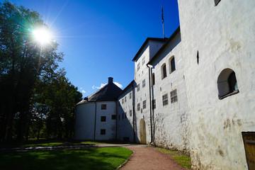 Exterior of Turku Castle In Summer