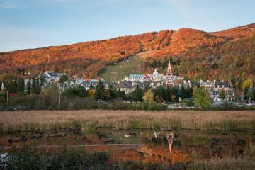 Mont Tremblant in Autumn, Quebec, Canada