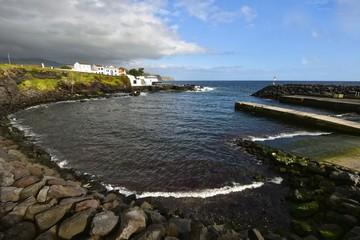 Azoren - Sao Miguel - Lagoa - Porto dos Carneiros