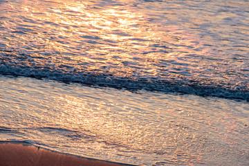 夜明けの木崎浜海岸8