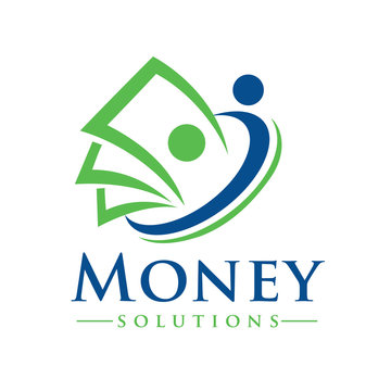 Money and Billing Solutions Logo Design Inspiration Vector