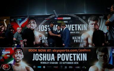 Anthony Joshua & Alexander Povetkin Press Conference