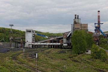An old coal mine in Poland.