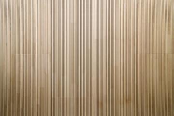 Plafond en lamelles de bois Fotobehang