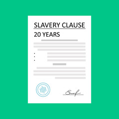 Anti Slavery campaign. Freedom day. poster campaign. Modern slavery