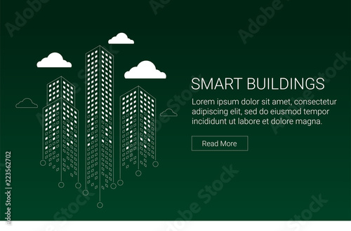 Smart building and city concept design for real estate