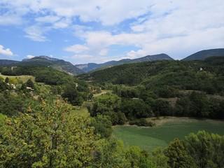 paysage du vercors