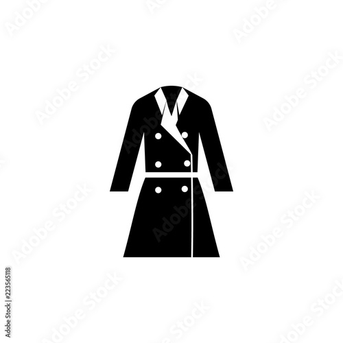 c029fff8883e cloak icon on white background. Clothing or Clothes or Fashion for Man  Woman Icon Vector Illustration