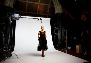 Lily Allen, whose album 'No Shame' has been nominated for the Mercury Prize 2018, poses for a photograph ahead of the ceremony at the Hammersmith Apollo in London