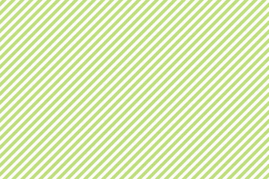 Green white striped fabric texture seamless pattern