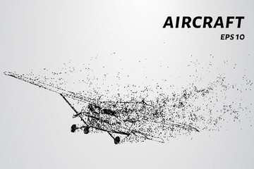 Aircraft of particles. Aviation concept design