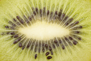 Kiwi fruit texture background blurred image Can be used as a background