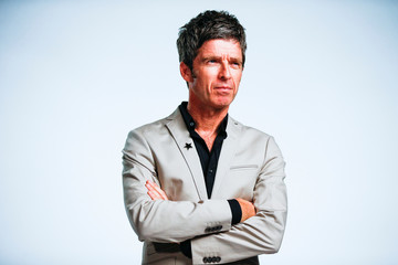 Noel Gallagher from Noel Gallagher's High Flying Birds, whose album Who Built the Moon? has been nominated for the Mercury Prize 2018, poses for a photograph ahead of the ceremony at the Hammersmith Apollo in London