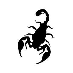 Scorpion silhoutte clipart