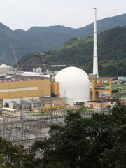 A general view of Angra dos Reis nuclear complex, in Andra dos Reis