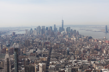 Areal View of New York