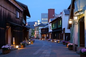 [長崎県]長崎市内・出島の夜景