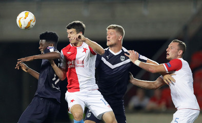 Europa League - Group Stage - Group C - SK Slavia Prague v Bordeaux