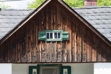 rustikale Hütte, Fenster