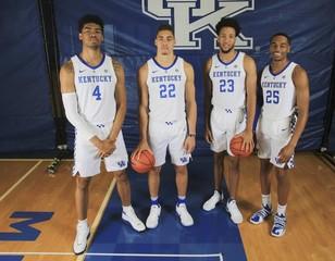NCAA Basketball: Kentucky Media Day