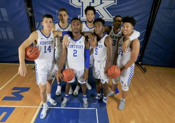 NCAA Basketball: Kentucky Media Day
