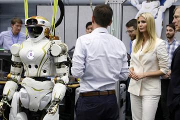 White House Senior Advisor Trump tours the Johnson Space Center in Houston
