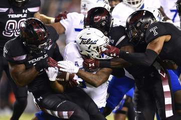 NCAA Football: Tulsa at Temple
