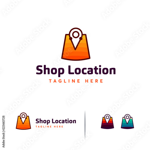 Location Logo Designs Point Template