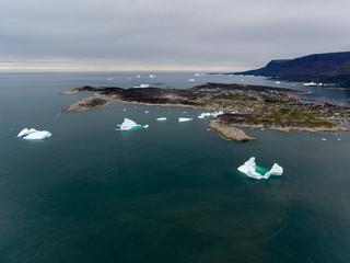 Grönland | Luftaufnahmen