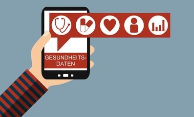 Gesundheitsdaten auf dem Smartphone