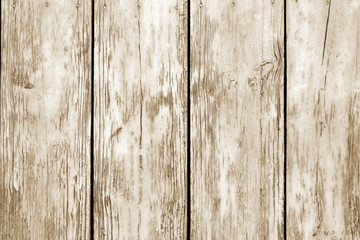 Old grunge wooden fence pattern in brown tone.