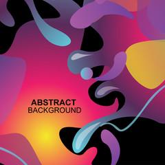 Abstract fluid vekctor background