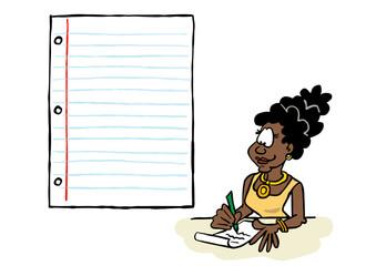 Writing Josephine