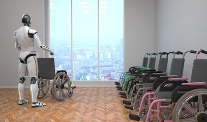 Roboter Rollstühle Pflege 2.0