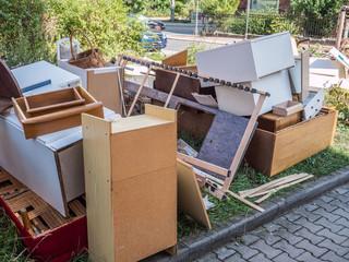 Recycling Sperrmüll