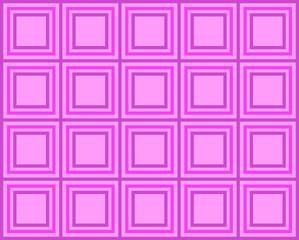 Fondo de baldosas cuadradas y rosas.
