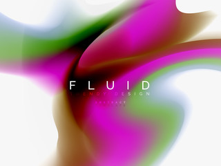 Background abstract color flow, liquid design