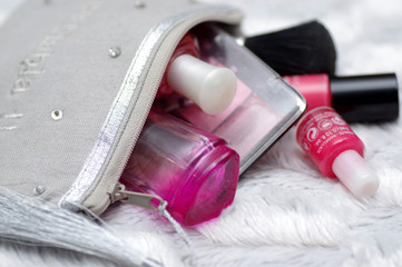 trousse de maquillage girly