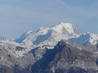 Foto op Plexiglas Bergen La Montagne