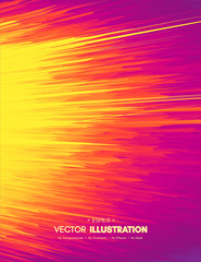 Abstract background. Dynamic effect. Motion vector illustration. Fantasy composition for brochure, poster, textile, card and wallpaper.